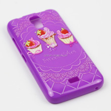 Ultrathin flexible gel pattern print protective lifeproofing cover for galaxy s4 i9500
