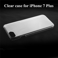 Clear pc wholesale cell phone case for iphone 7