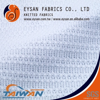 EYSAN Pointelle RIB Interlock 70 Polyester 30 Cotton Knitted Fabric