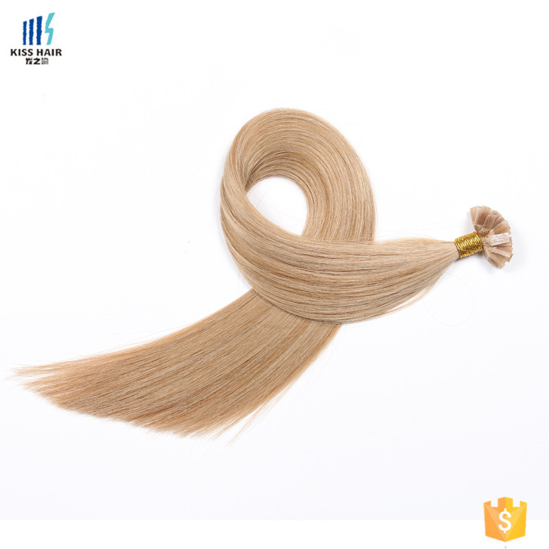 Brazilian #27 Color keratin fashion tip 100% remy human hair extension 0.5gram/piece