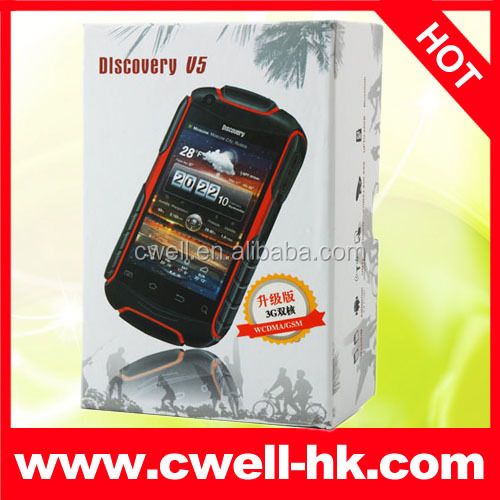 4GB ROM Android 4.2 Dual SIM Card Mobile Phone Orange Discovery V5 + smartphone