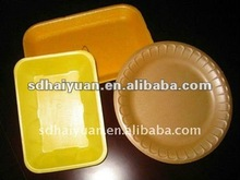 plastic disposable plate/tray/bowl/box making machine