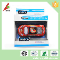 2015 cheaper top classic model children power control metal car toys