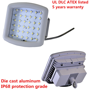 IP68 UL ATEX 80w led explosion-proof high bay lighting with 5 years warranty