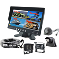 7 inch Quad Monitor IP69K 4 Cameras Waterproof Night Vision Truck Tractor Rear View Camera System
