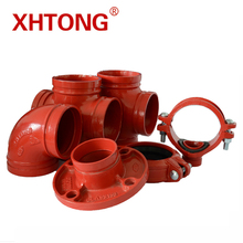 FM/UL Approved pipe fittings For Fire safety system