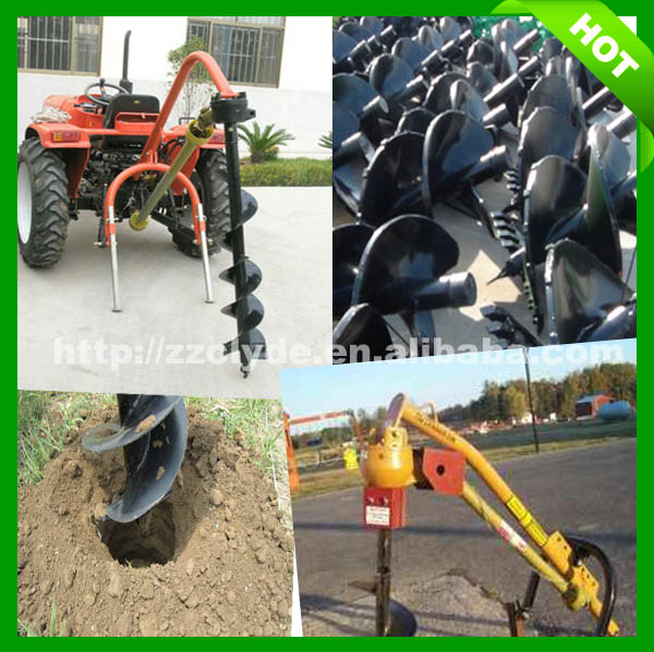 traktor icin burgu Farm Tractor hole digging machine