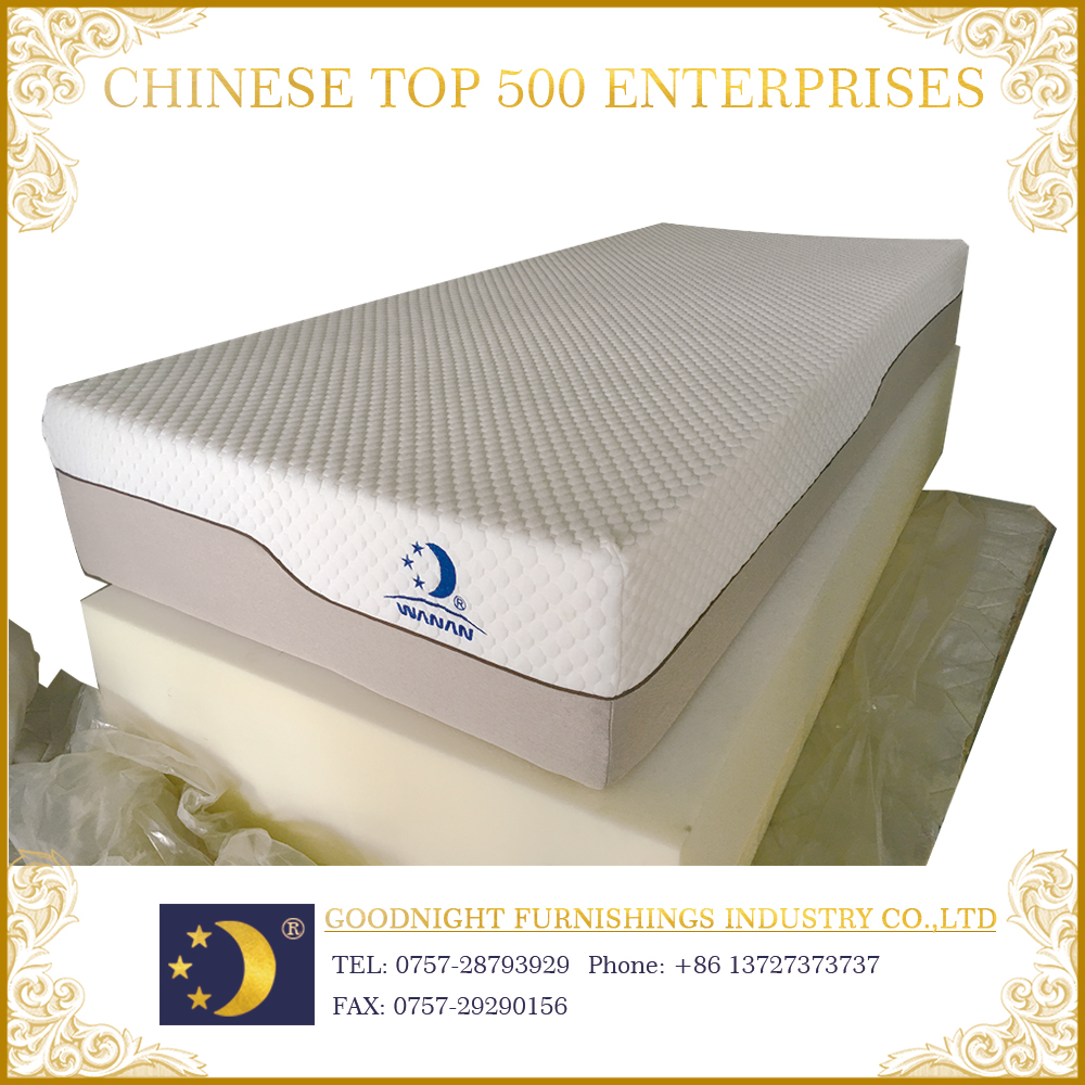 Factory direct wholesale WA-MF018 sponge fit human body natural elegant mattress