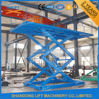 Vertical Smart Hydraulic Cylinder Scissor Car Lift