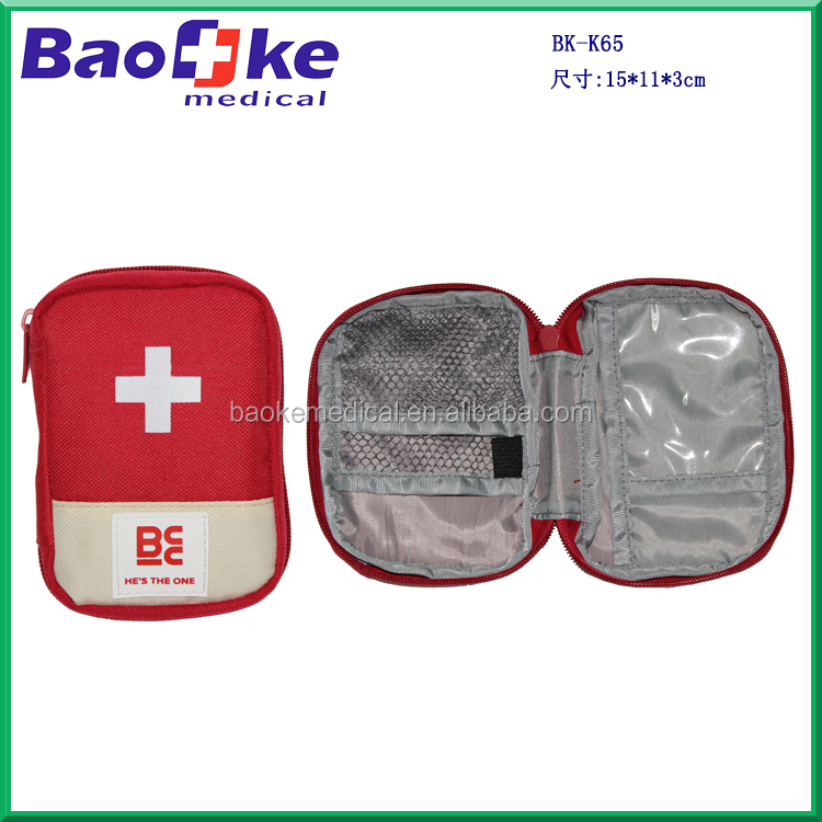 Custom mini portable motorcycle medical travel bag with private labeling
