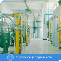 3-100TPD refined edible oil making machinery