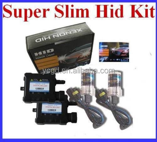 Automobiles & Motorcycles HID XENON KIT Slim Ballast H8 H1 H3 H7 HB4 HB3 9005 9006 H4LOW HEADLIGHT LAMP