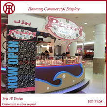 mall dessert coffee ice cream bubble tea shop design