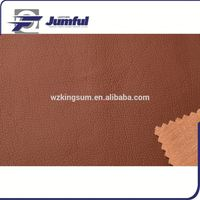 Embossed PVC bus cover material with strong backing