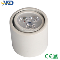 3W led downlight 90-277V 3 years warranty Surface Mounted epistar 150mm led down light