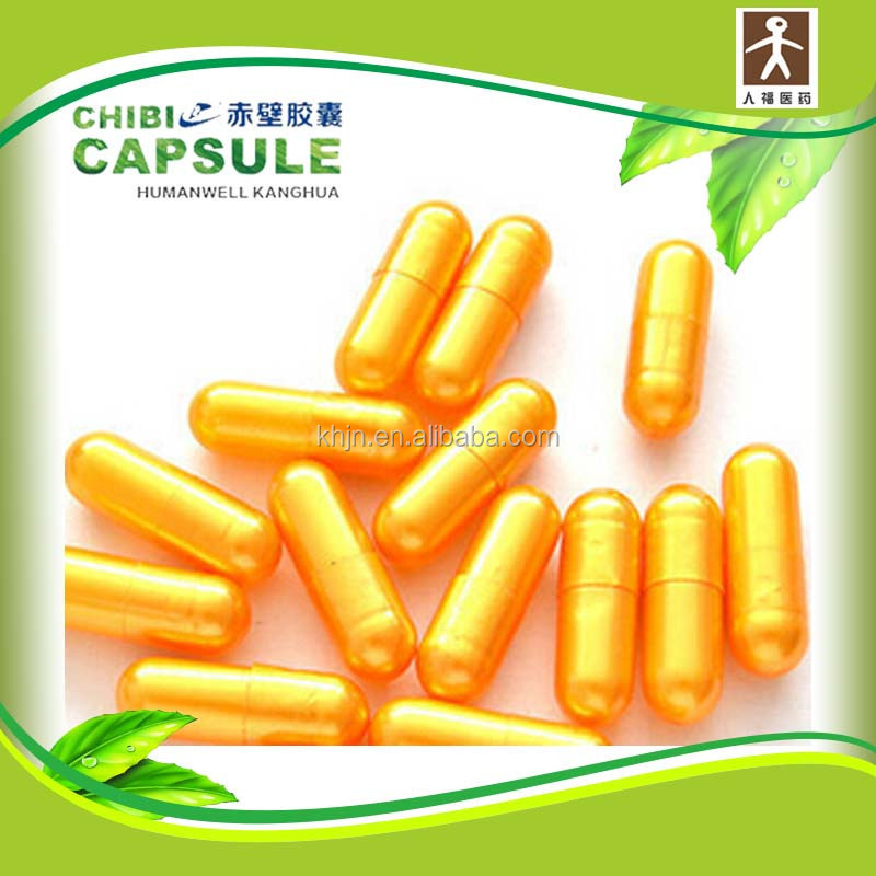 BSE/TSE free medcine packing royal gold capsule