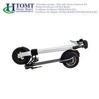 Skateboard with Seat 2016 HTOMT electric scooter folding scooter four wheel stand up electric scooter 4 wheel