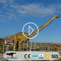OAJ 8655 2017 hot sale high quality animatronic dinosaur statue