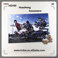 Newest Dye Sublimation Custom Puzzle Fancy