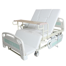 Medical king size rotationg metal electric nursing home care beds