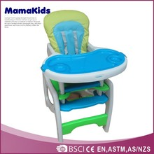 wholesale en 1888 approved 3 in 1 plastic baby dining table and chair