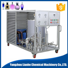 Automatic Perfume Freezing Filtering Mixing Machine with cheap price