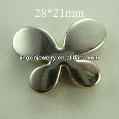 Plated Plastic Butterfly Design 28*21 mm more fashion jewelry beads support