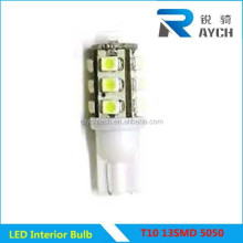 T10 13SMD 5050 Led car auto flashing led lights dashboard light /indicator light t10 13smd 5050 automotive led bulb