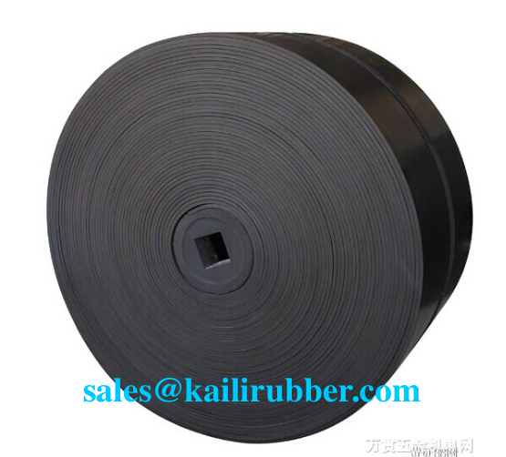 Abrasion resistant Nylon (NN) EP fabric rubber conveyor belt/band use for the crushing
