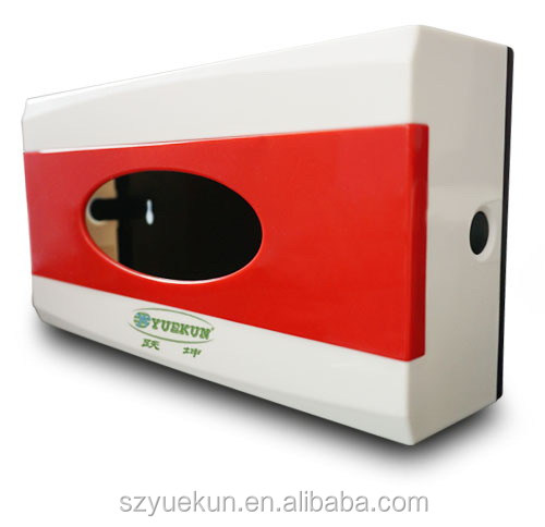ABS plastic book shape tissue box / plastic table top soft box YK2083