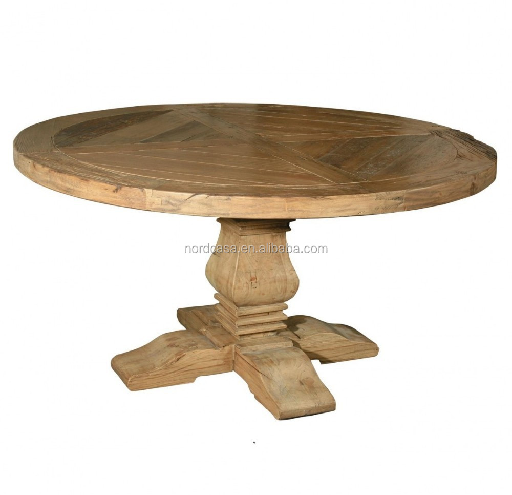 Solid Wood Round Dining Table Buy Wood Rustic Round Dining Table