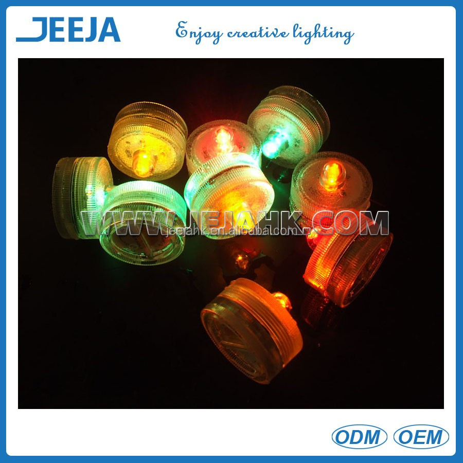 Candle Tea Fairy Light Waterproof LED Submersible Mini Decorative Lights