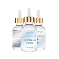Private Label Natural Skincare Kojic Acid Skin Lightening Serum
