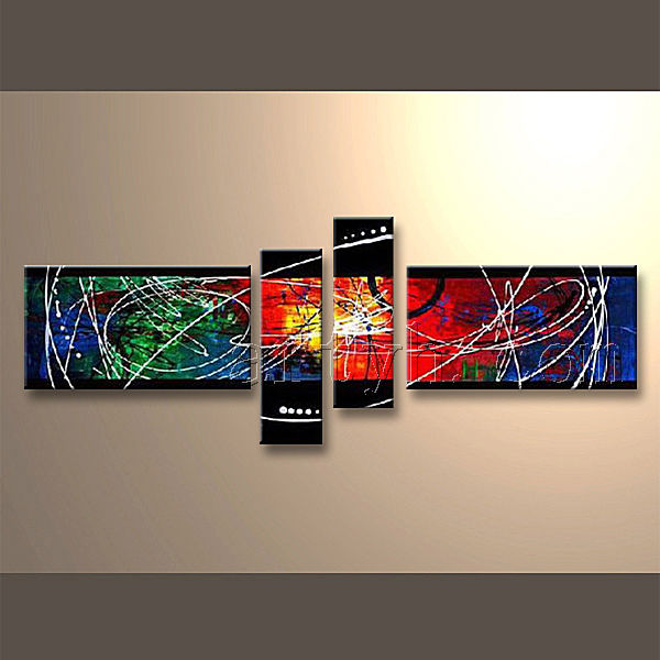Wholesale China Factory Handmade Abstract Oil Canvas Painting Frame For House Decor