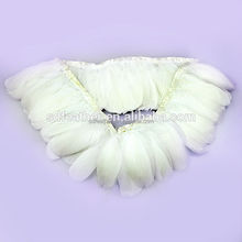 Fashionable Plumage Fringe Wholesale Cheap Natural White Goose Feather Trims