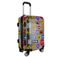Fashion Hot Sell print ABS PC Luggage / carry on luggage / Travel Luggage