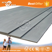House design material fiber cement sheet flat / corrugated roofing sheet