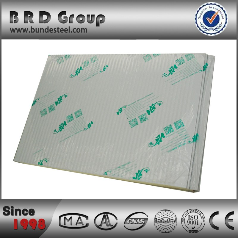 Factory Price Heat Insulation PU Foam Sandwich Wall Panel