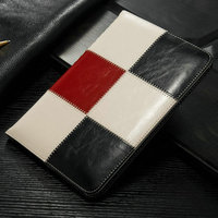 wholesale for Ipad 2 leather case wallet leather tablet case for iPad 4