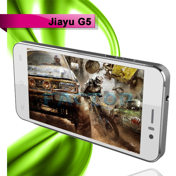 JIAYU G5 4.5 Inch IPS Screen 3G Android 4.2 Smartphone MTK6589T Quad Core 1.5GHz 4GB ROM