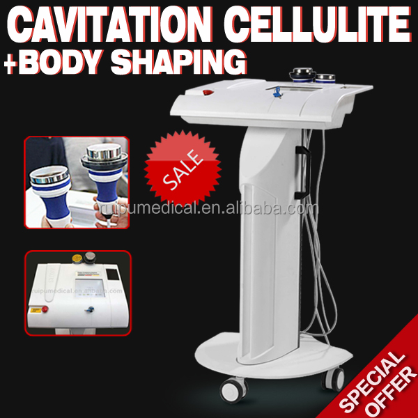 Ultrasonic fat cavitation machine for weight loss and body shape