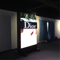 Hot sell floor stand indoor sliding led display panel display
