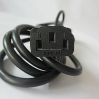 UL lised magnetic laptop computer power cord IEC 60320
