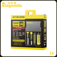 In stock High Quality nitecore i4 for 18650 battery external battery charger