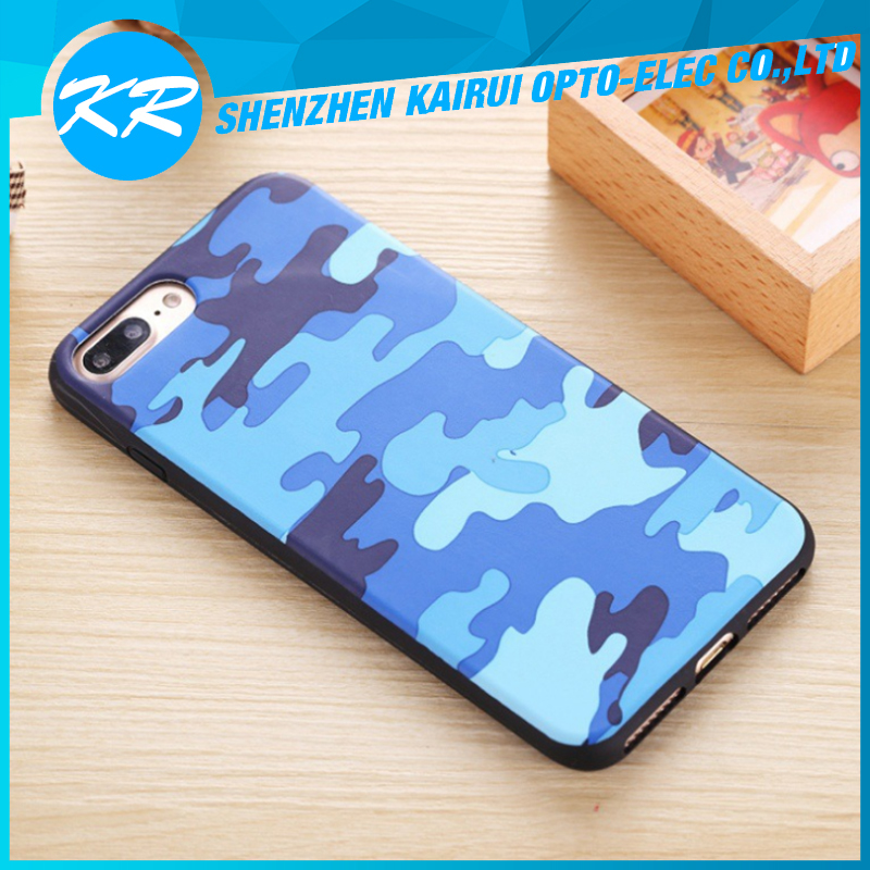 Cell Phone Case Cover for Apple iPhone 7 Plus Camouflage Case
