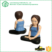 Promotionalm Yoga Stress Toy Stress Reliever with logo printed