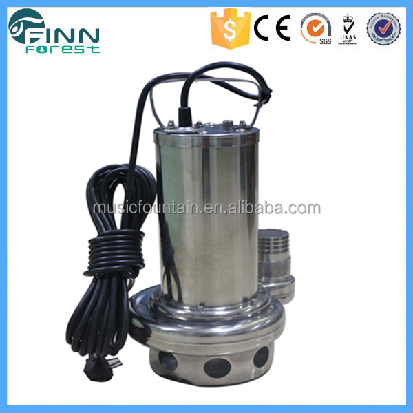 Stainless steel mini water circulating pump for fountain