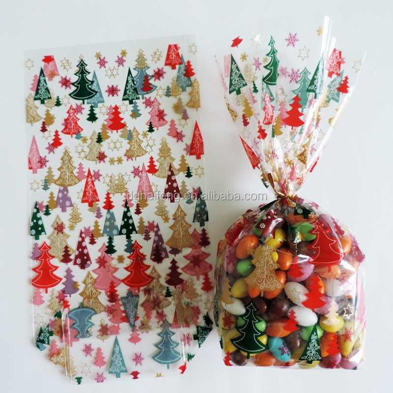 Candy packing pp bag print plastic bag