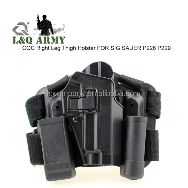 Drop Leg Holster Waist Paddle For SIG 220/228/229 P226