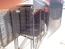 foldable dog fence large dog crate